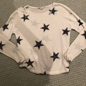 H&M sweater with stars